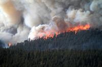 The Wallow Fire moves closer to Sprucedale